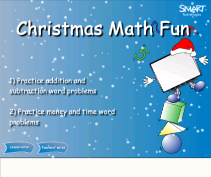 Christmas math problems