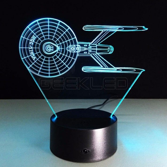 3d Optical Illusion Lamp Night Light Star Wars 1707 Fighters Geekled Gift 3d Led Lamp Star Wars Lamp Led Night Lamp