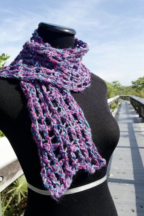 Nov 7 Be So Wild Crochet Boa Fur Stitch Scarf FREE Pattern | crochet ...
