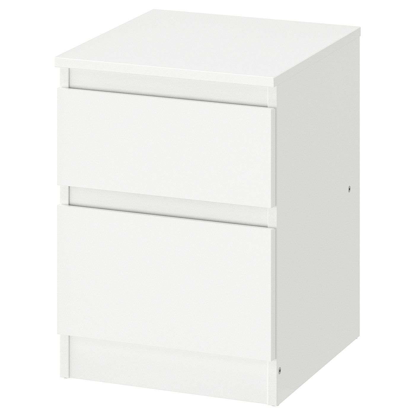 Kullen Ladekast 2 Lades Wit 35x49 Cm Ikea In 2020 Ikea Bedside Table Drawers