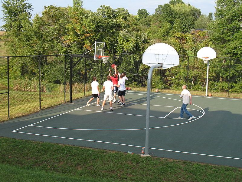 Long Island Basketball Courts Great Places To Shoot Hoops On Li Basketball Court Basketball Court