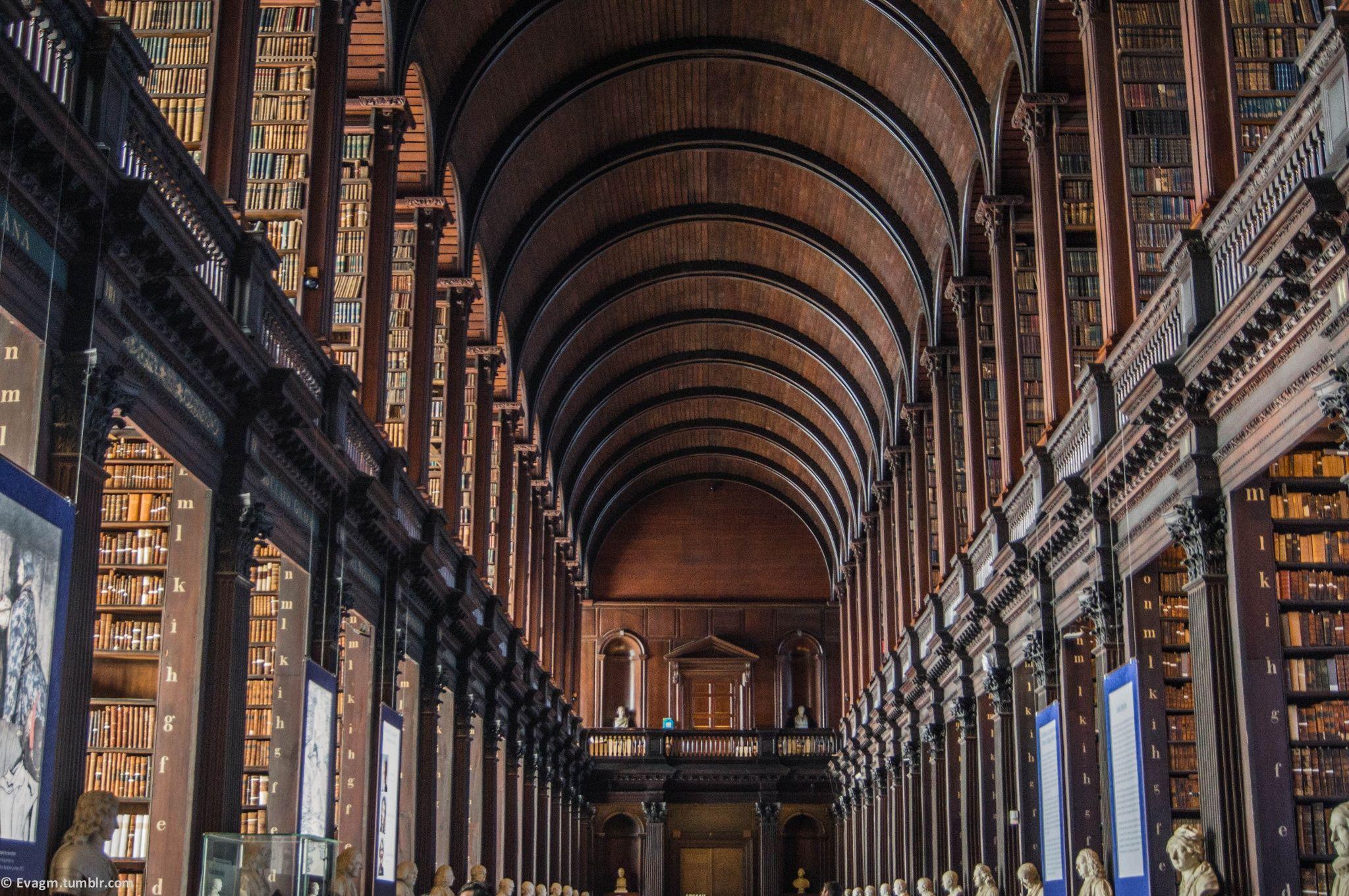 Dublin - Trinity College : Long Room by Eva Giacometti Mahiou on 500px