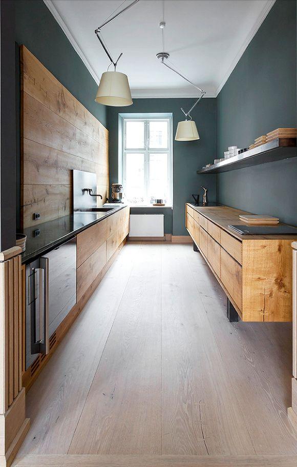 Ideas para cocina moderna y acogedora aun con poco espacio - küche bei poco