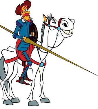 Cervantes Y Don Quijote De La Mancha Personajes Todos Don