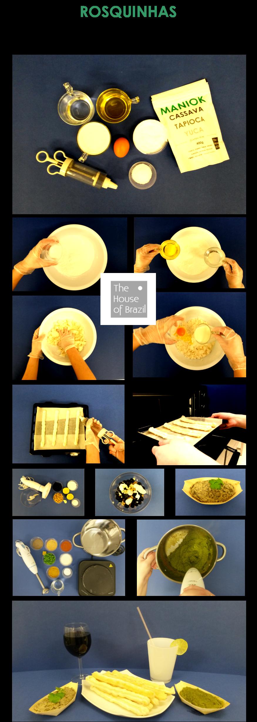 úžasné maniokové tyčky s olivovým dipem / hráškovým tatarákem... wonderful manioc sticks with olive dip / pea tartare