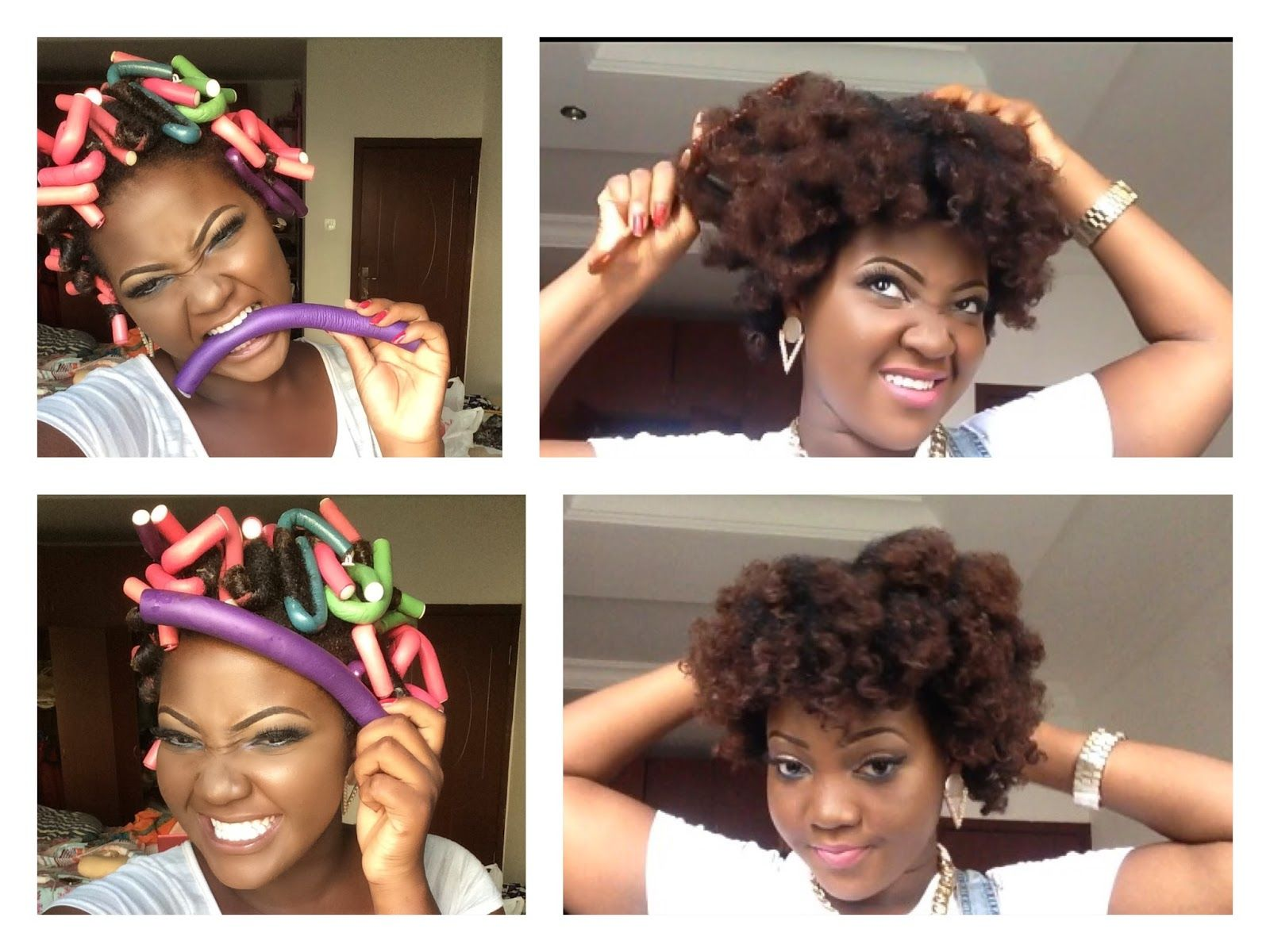 Black Hair Roller Set Styles: HAIR : HOW I USE FLEXI RODS(BENDY ROLLERS) ON MY NATURAL