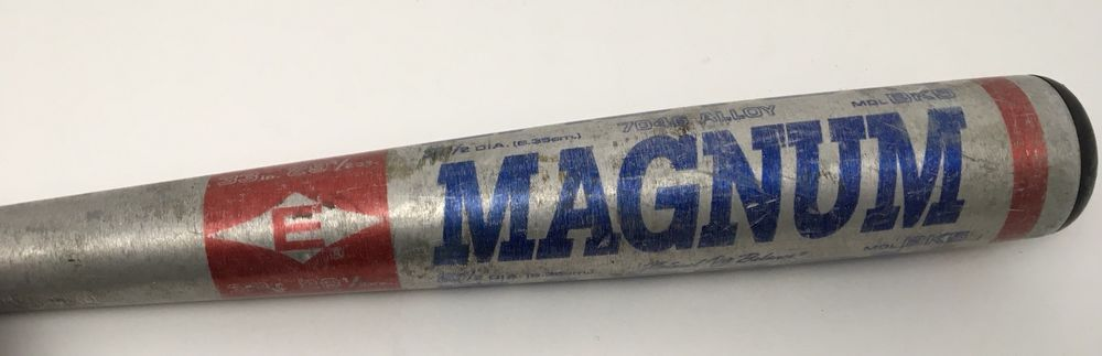 Easton Magnum Baseball Bat Vintage BK5 33/29 5 Thin Grip 2 5 Barrel