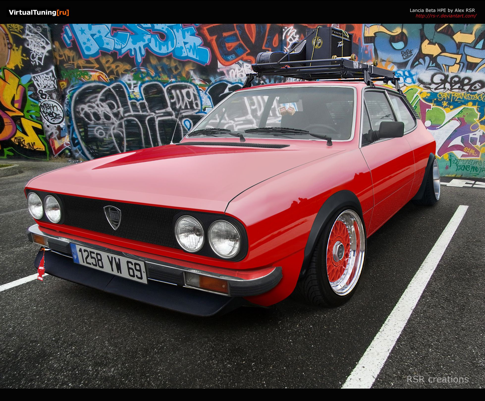 stanced Lancia Beta HPE on BBS\'s. | cool cars / spoko fury ...