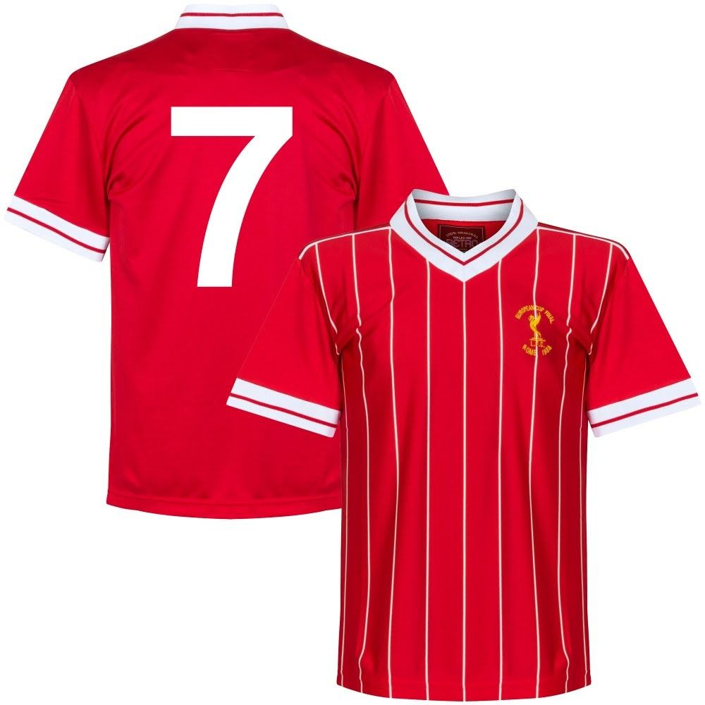 67bb701ff 1984 Liverpool European Cup Final Retro No7 Shirt