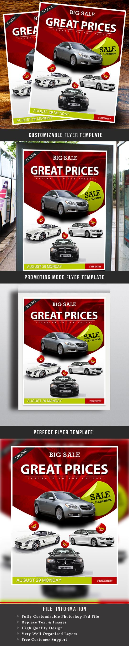car for sale flyer template free - Goal.blockety.co