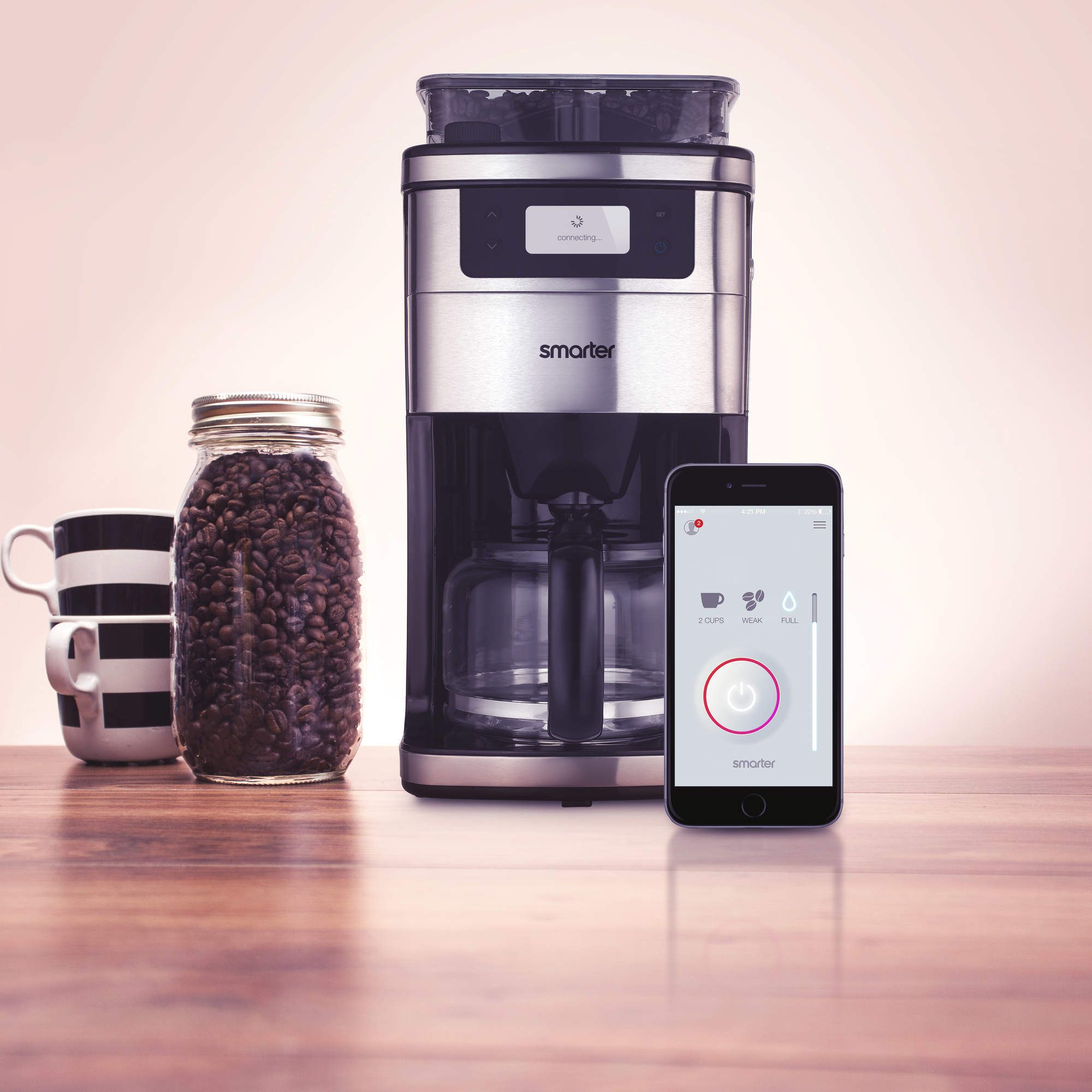 The Wifi Enabled Automatic Coffee Maker Wifi Coffee Maker Coffee Maker Coffee Machine