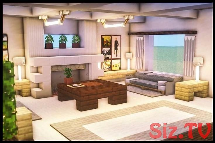 Minecraft Interior Design Living Rooms | Minecraft ...