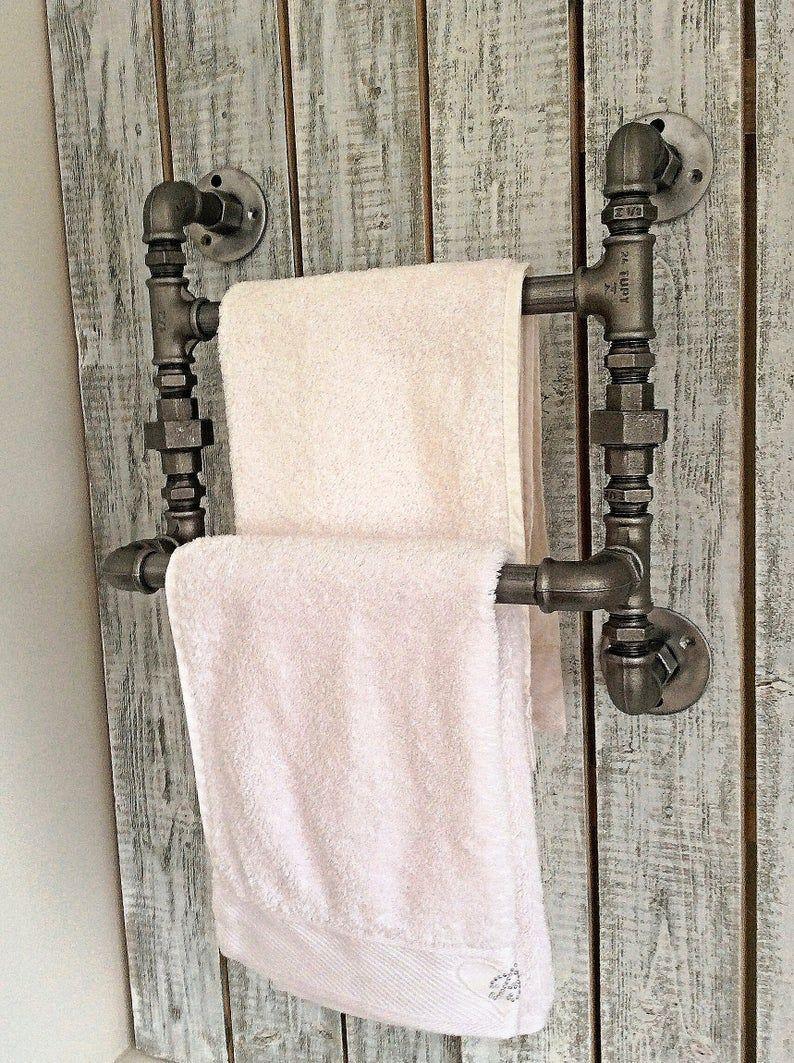 Pin On Diy Towel Rack