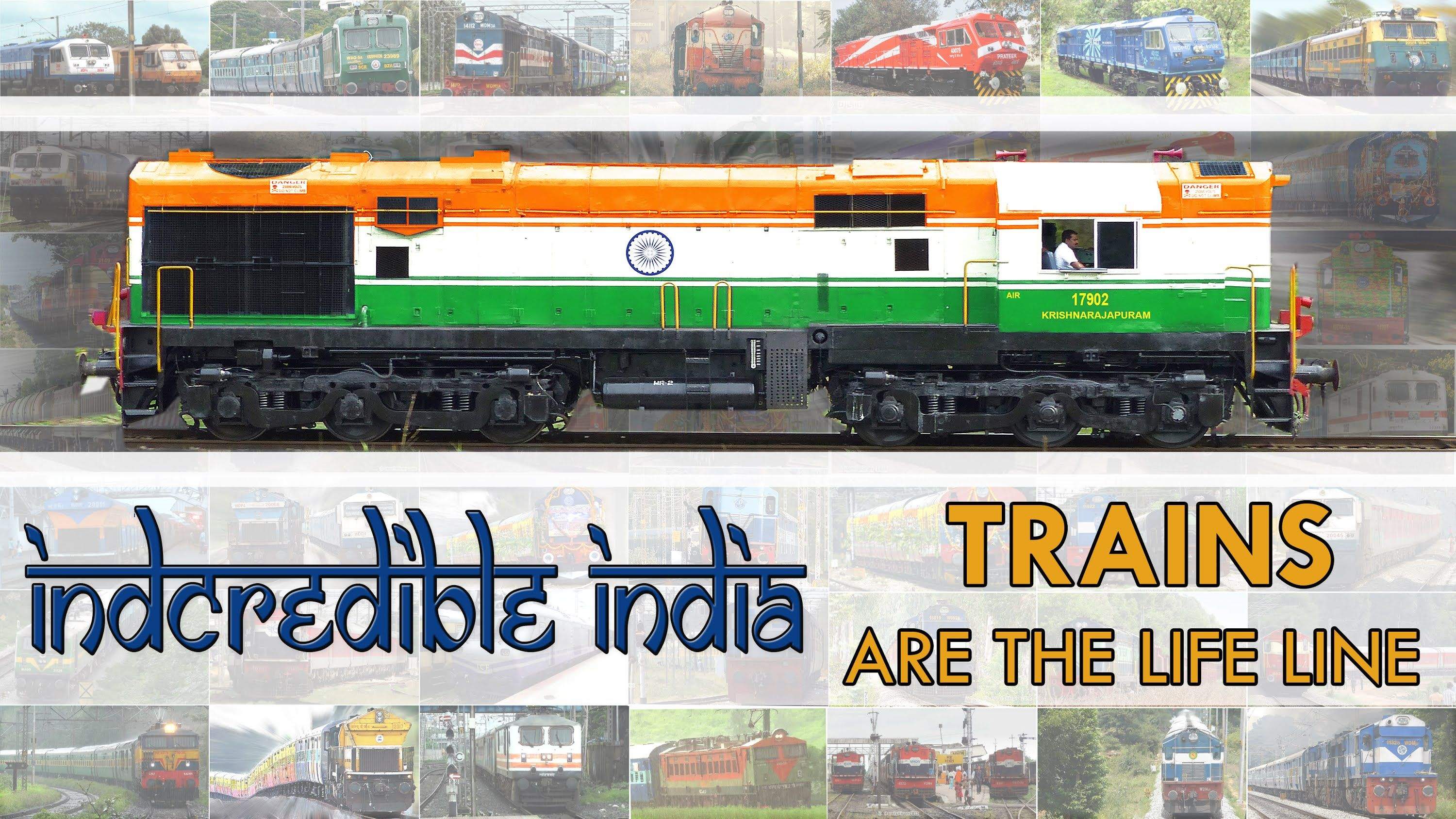 TRAINS are the LIFE Line INCREDIBLE Indian Railways