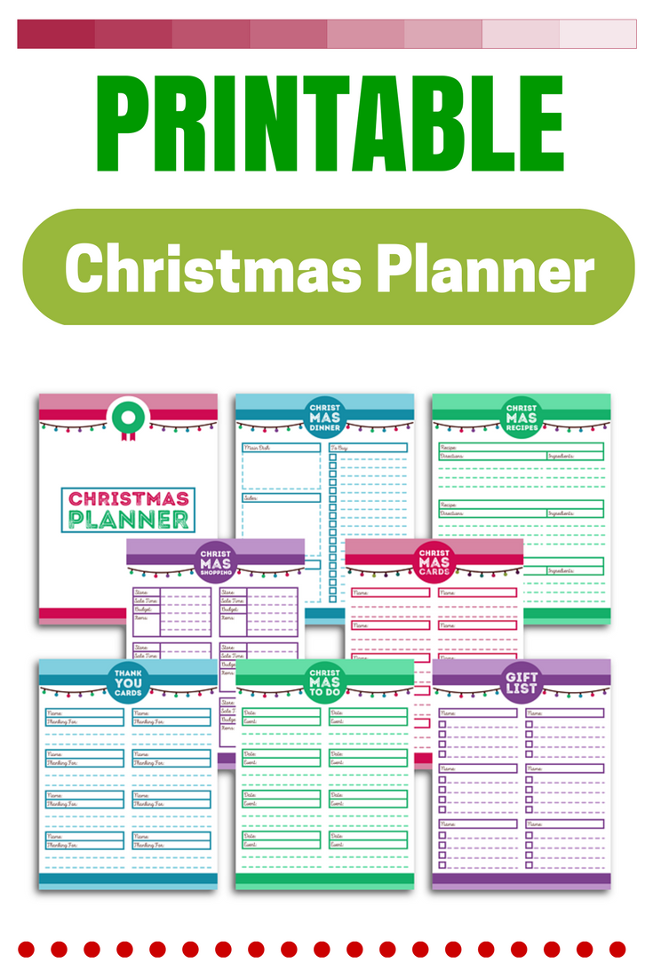 christmas planner printable | *~christmas delights!~* | pinterest