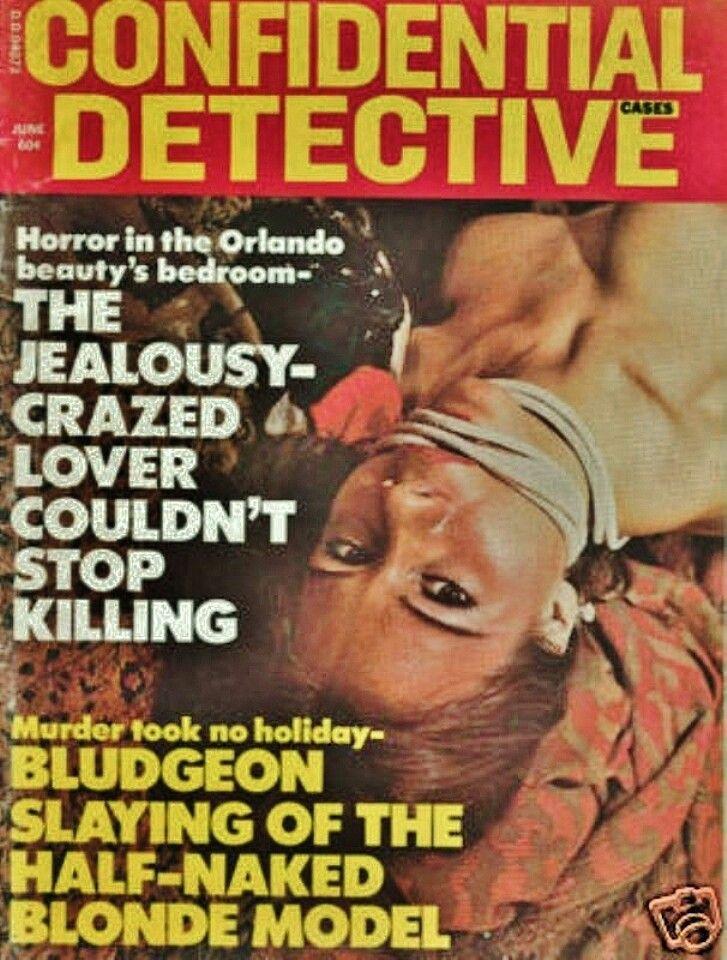 Bondage cover detective magazine