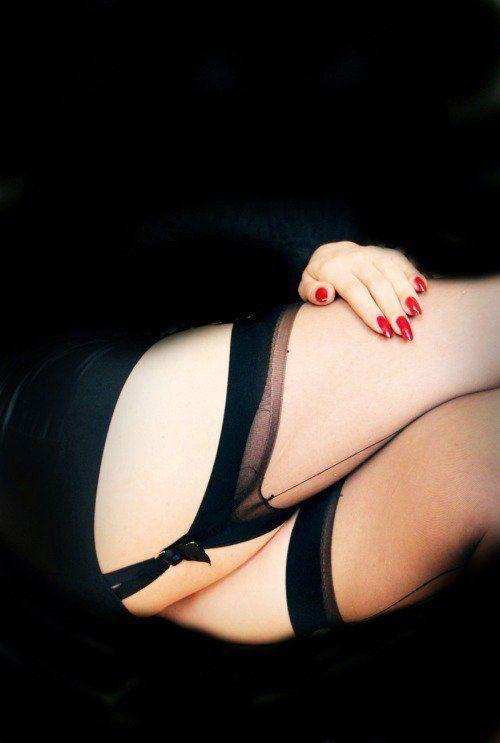Stockings suspenders tumblr
