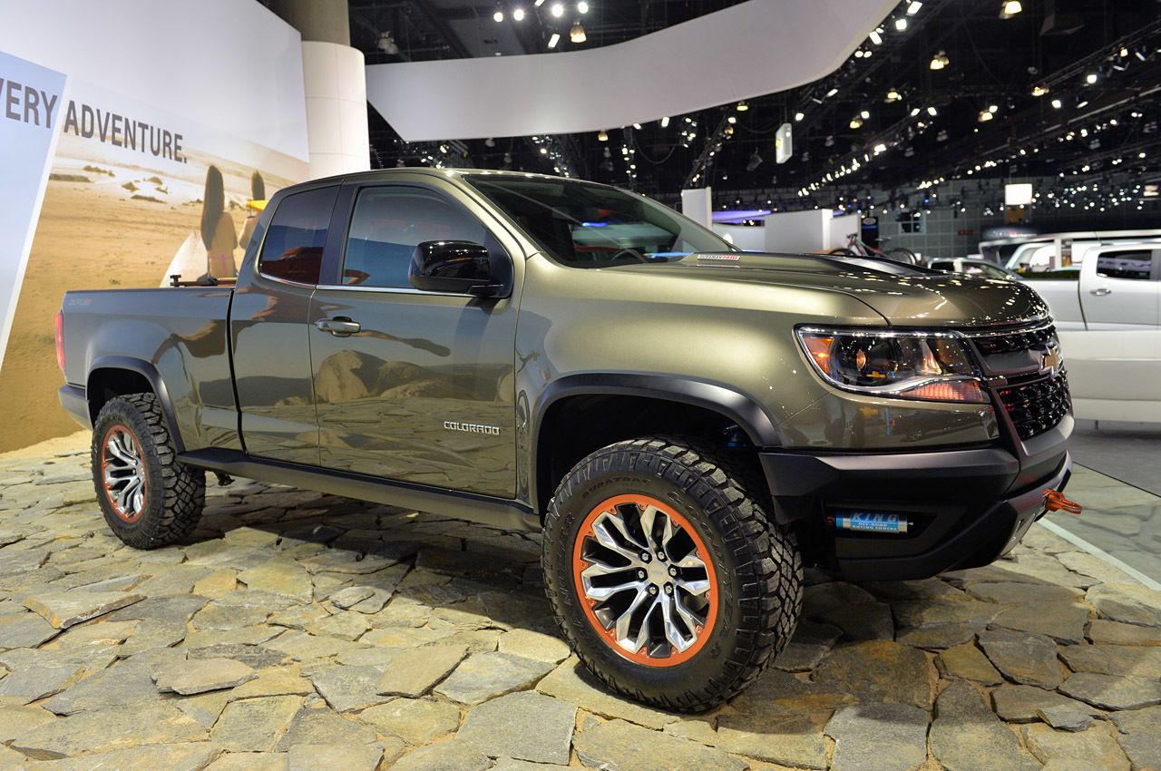 Chevrolet colorado zr2 concept suggests a diesel off road future autoblog