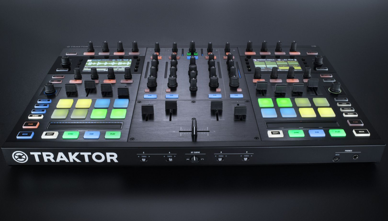 Traktor : DJ Controllers : Traktor Kontrol S8 | Products
