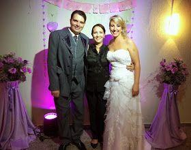 Marinez Roque ::: Cerimonial & Decorações: Casamento de Denise e Marcelo, na Igreja Encontros de Fé - POA e Restaurante Meu Cantinho, em 22/03/2014.
