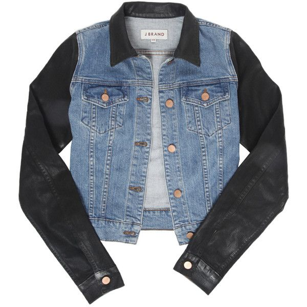 J Brand 403 Slim Denim Jacket in Coated Bowie Giacche Di Jeans e4ee63686602