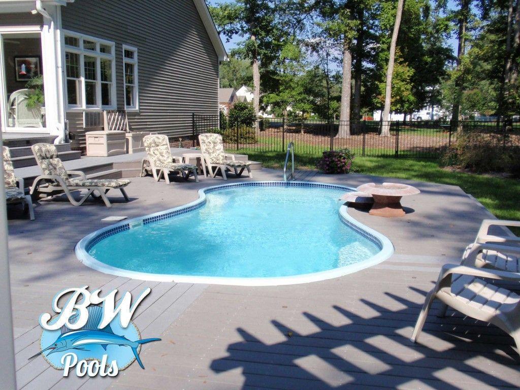 Outdoor Inground Yard Pool Inground Pools Virginia Beach