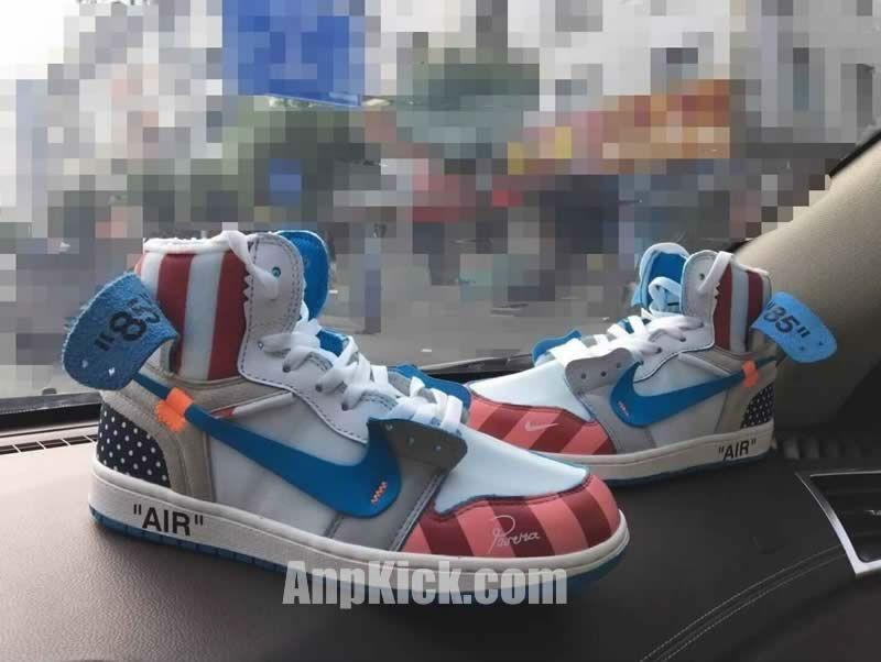 wholesale dealer 88c24 20916 ... netherlands parra off white air jordan 1 customize shoes custom made  jordans 9 anpkick 9fcb7 f79c4