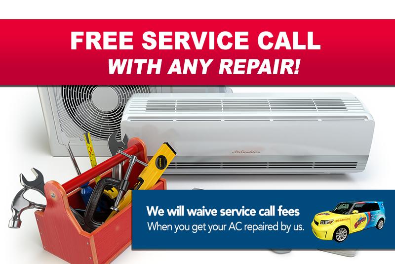 Air Conditioning Specials Air conditioner repair