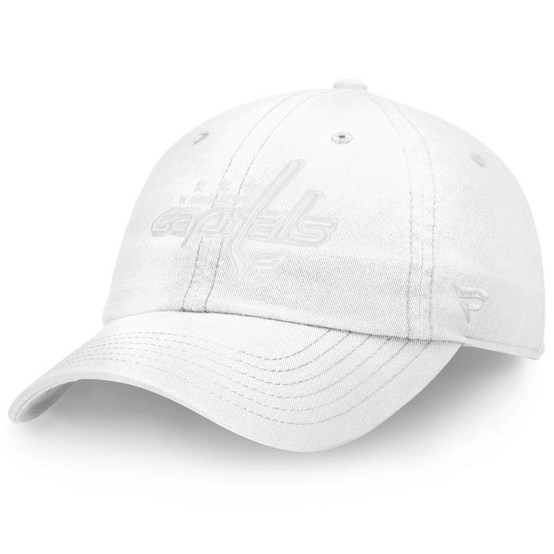 brand new 4f85f cd15b Washington Capitals Fanatics Branded Women s Go Fundamental Adjustable Hat  - White