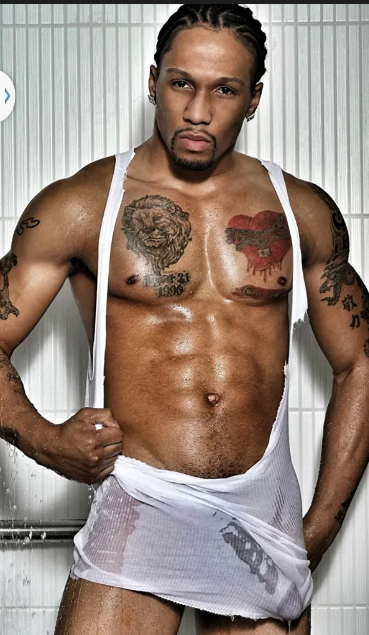 Male stripper facials