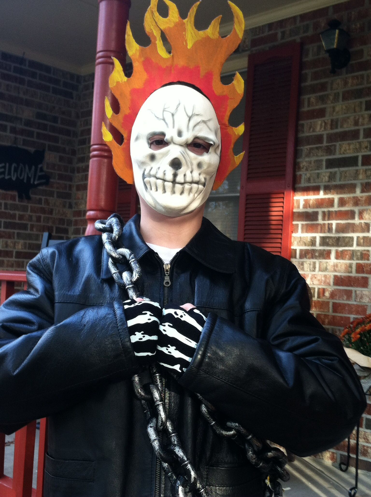 Ghost Rider/ Johnny Blaze costume. | Halloween | Pinterest | Ghost ...