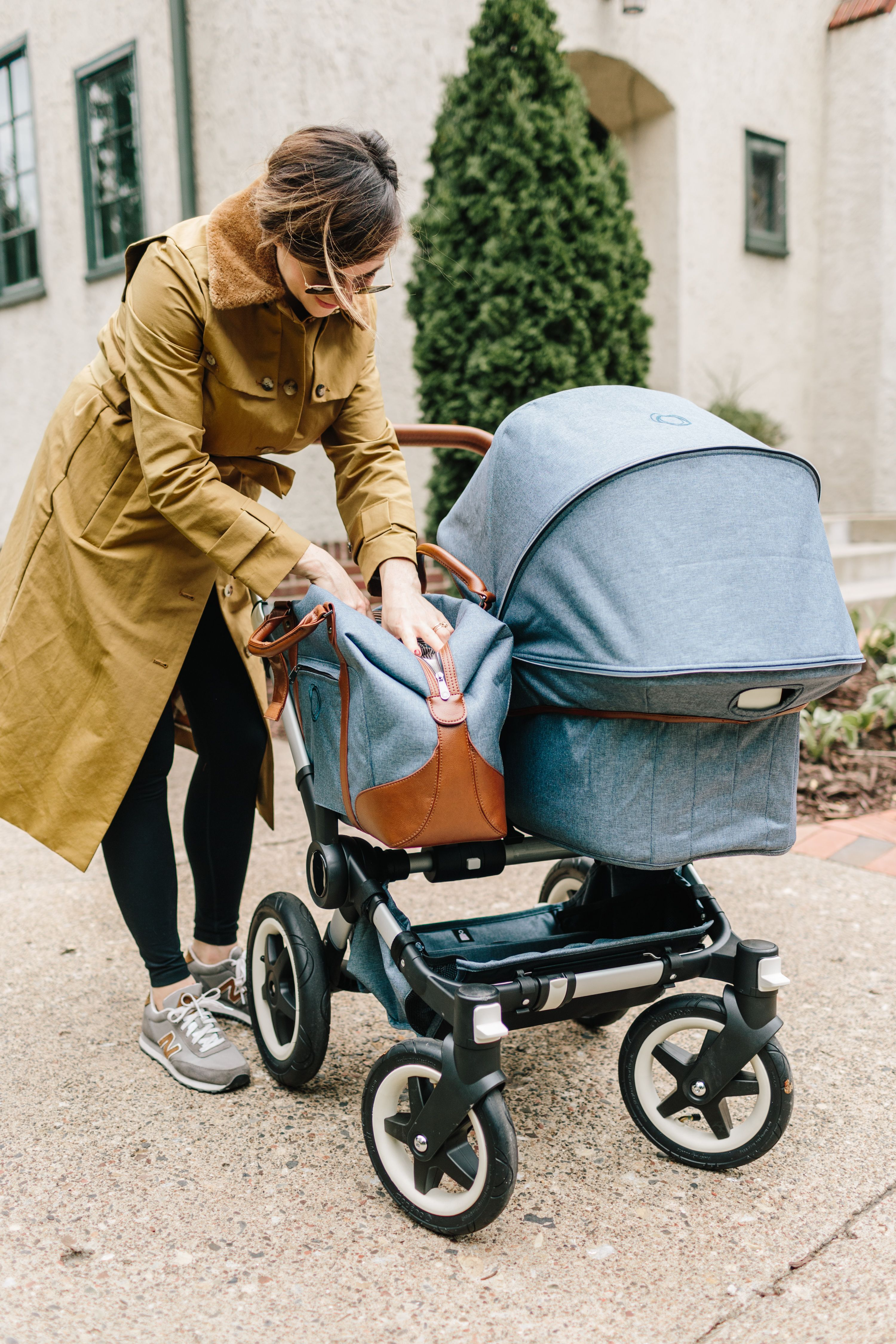 Bugaboo Donkey Duo Classic Wit Delight With The Bugaboo Donkey Weekender Baby