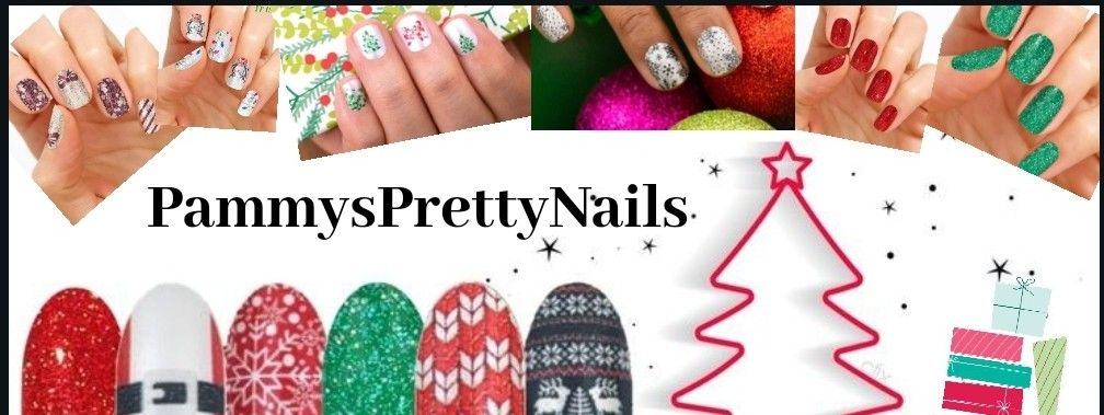 Pammys Pretty Nails Color street, Holiday nails, Pretty