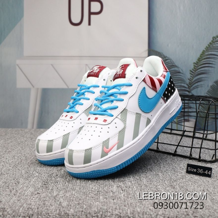60804c4c9960 Nike Air Force Amusement Park Rainbow Collaboration- True Action Leather  Online