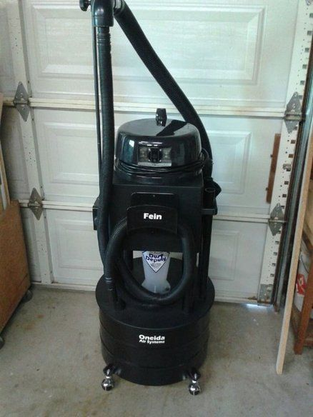A Different Kind Of Oneida Dust Deputy Cart Caddy With Fein Vacuum