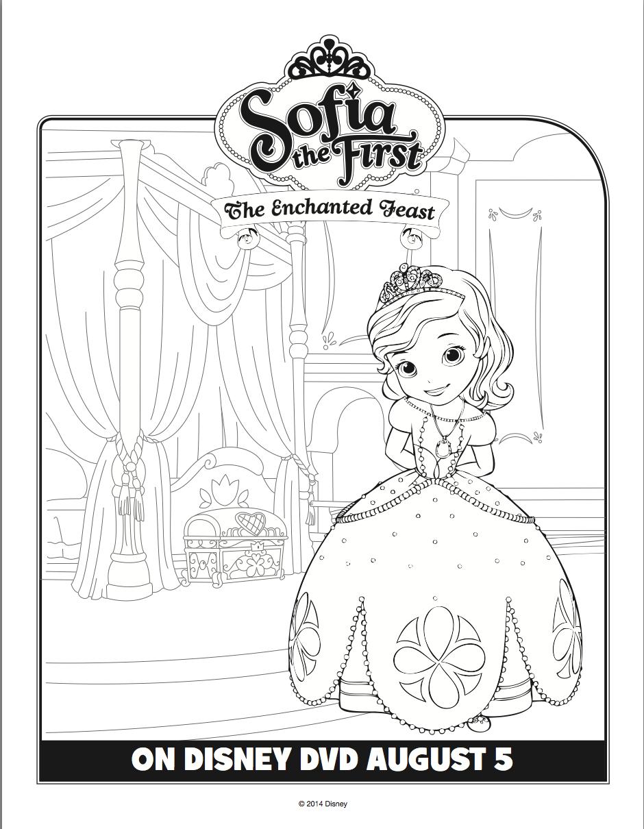Fancy Princess Sofia Coloring Book 75 princess sofia coloring page