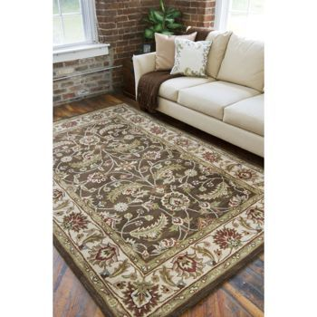 costcocom 100 wool hand tufted carlisle rug 8x11 - Costco Area Rugs