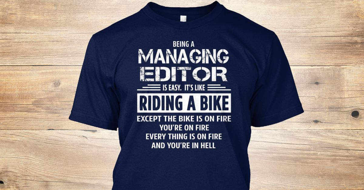 Managing Editor Editor, Old women and Ugly sweater - managing editor job description