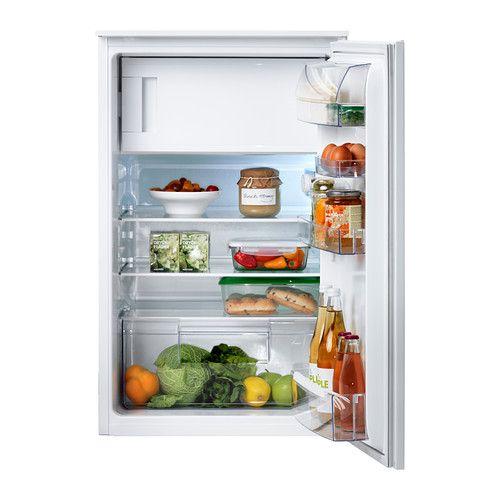 IKEA - SVALKAS, Unterbaukühlschrank mit Gefrierfach, Inklusive 5 ...