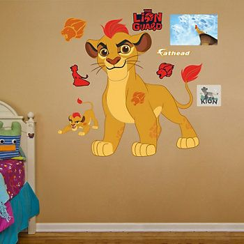 Disneys The Lion Guard Kion Wall Decal By Fathead
