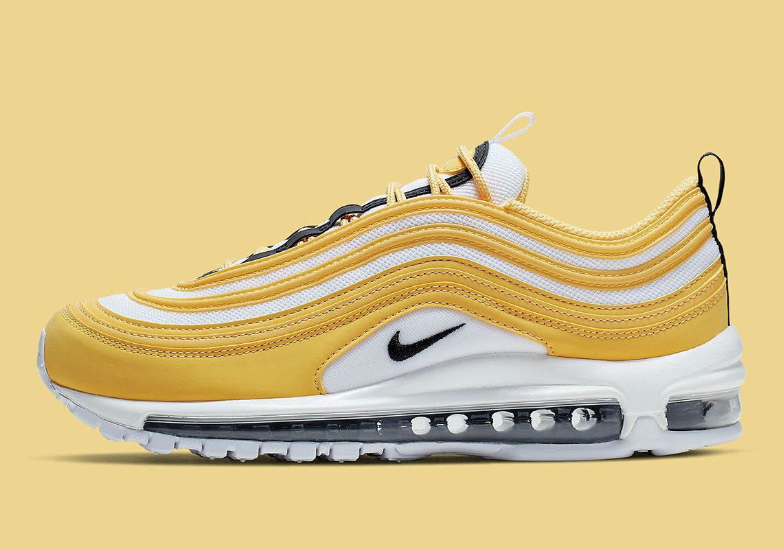 Taxi Style Yellow Accents Come To The Nike Air Max 97 With Images
