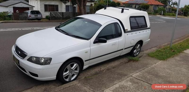 Car For Sale Bf Falcon Ute