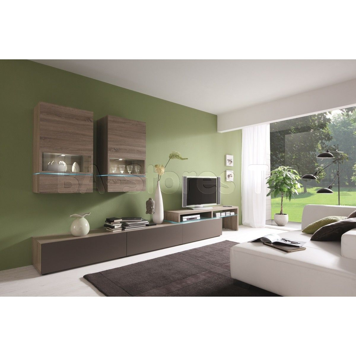 Amsterdam Combination11097 Modern Wall Unit by Creative