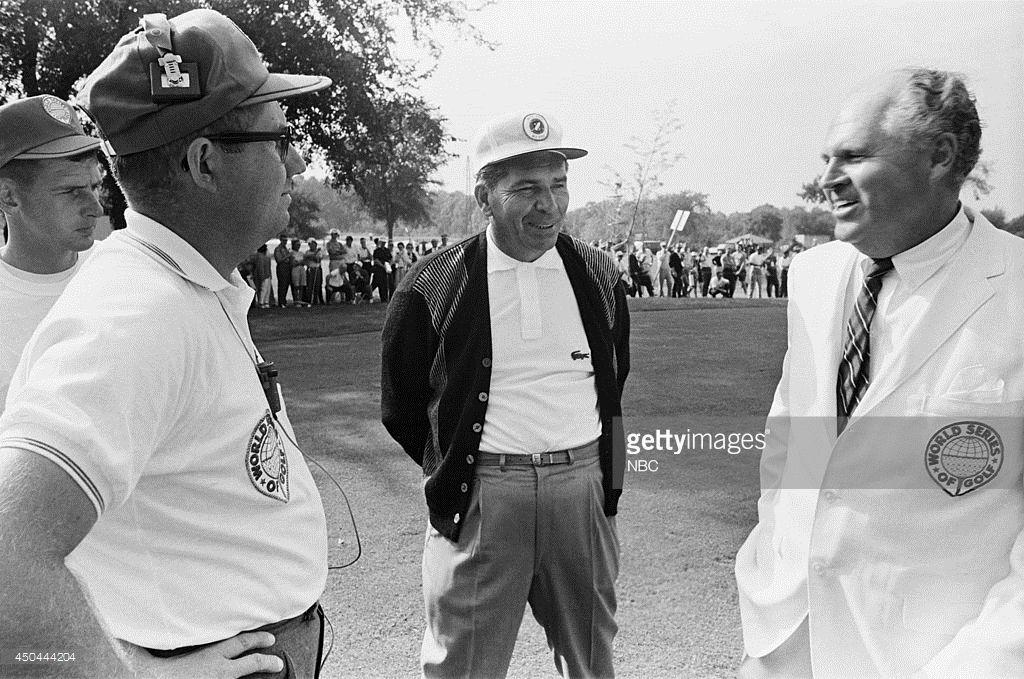 Professional golfer Julius Boros Golf pictures, 1963