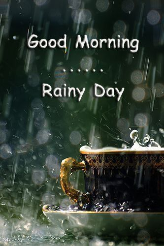 Good morning rainy day quotes about good vibrations pinterest good morning rainy day m4hsunfo