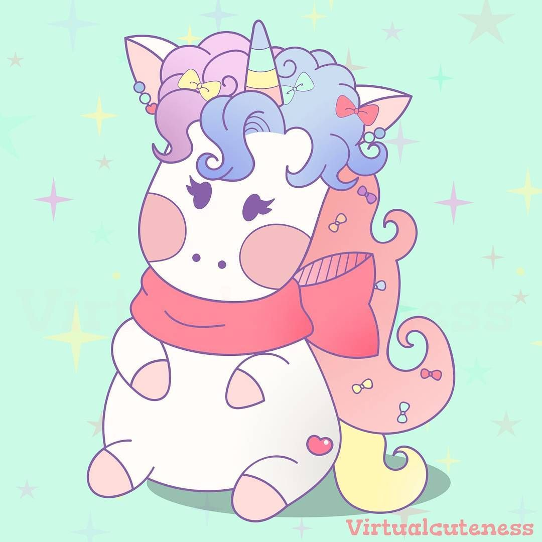 Unicorn Seni Anime Seni Cat Air Gadis Animasi