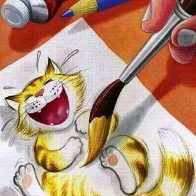 Gato que ri