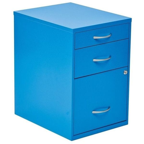 New Blue Lateral File Cabinet