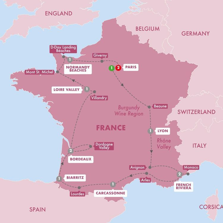 13 Day Best Of France In 2020 Road Trip France France Paris Sightseeing