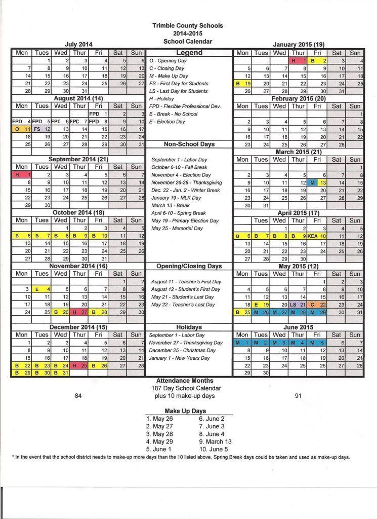 Http://Printcalendaron.Com/Madison-County-Schools-Ky-Calendar